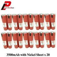 18650 Батарея для Sanyo 3.6 В 3500 мАч ncr18650ga 10A Механические инструменты Перезаряжаемые Batteria с Никель Простыни