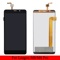 For Leagoo M8 / Leagoo M8 Pro LCD Display +Touch Screen Digitizer Assembly Sensor Glass Panel IN Stock