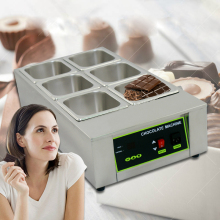 2016 Free Shipping Digital Chocolate Melting Machine Commercial Stainless Steel Chocolate Machine 230V  Hot Sale in Europe цена