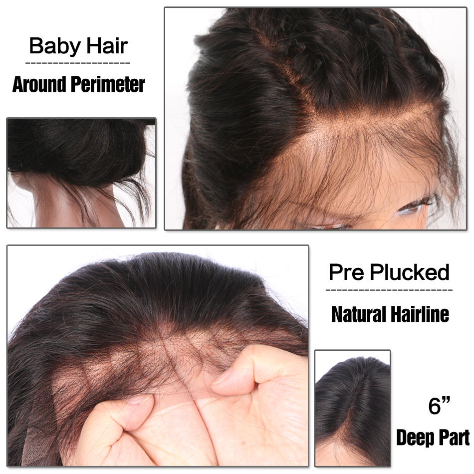baby hair&preplucked