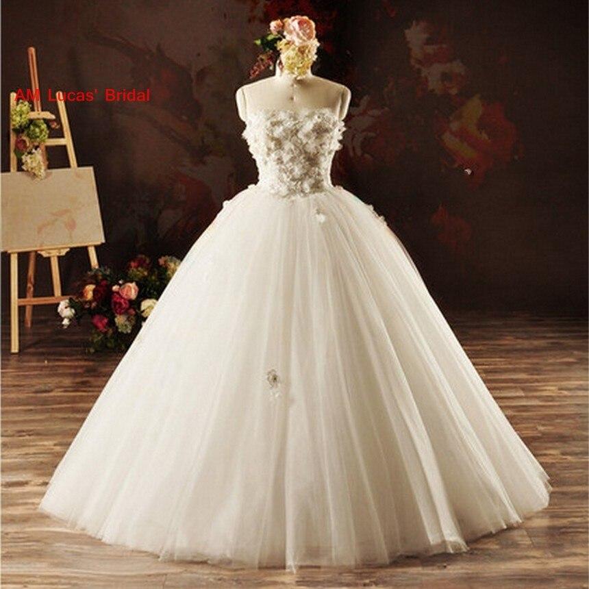 2019 nouvelles robes De mariée longue Tulle à lacets Robe De Mariage robes De mariée robes De soirée Couture robes De bal