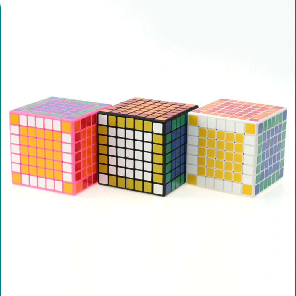 Shengshou 7*7*7 Magic Cubes Puzzle Pocket Speed Cube Educational Toys Gifts for Kids Children brand new shengshou 102mm plastic speed puzzle 10x10x10 magic cube educational toys for children kids baby