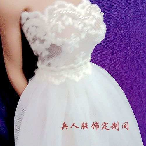 placeholder Estartek ET57 1 6 Sexy Lovely Black White Wedding Dress for Phicen  Hotstuff Loverly Doll 5f33c2a819d5