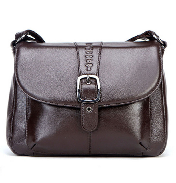 Women Real Leather Cowhide High Quality Single Shoulder Bag Fashion Casual  Famous Brand Designer Crossbody Messenger Bags 68d578f4098e9