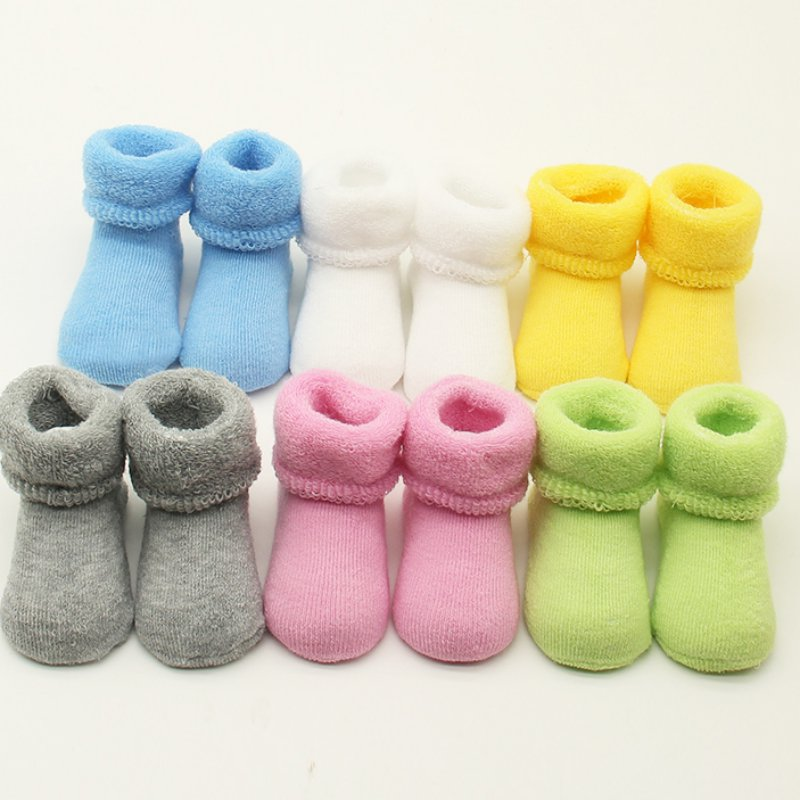 0-2 Y Baby Girls Boys Newborn Infant Winter Warm Boots Toddler Children Soft Cotton Socks Booties