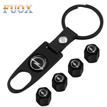 New Car key rings Tire Valve Caps For Opel Astra H G Corsa Insignia Astra Antara Meriva Zafira Interior Accessories Car Styling excellent 4pcs set new car tire valve caps fit for opel astra h g j insignia mokka zafira corsa vectra c d antara car styling