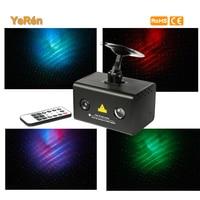 Remote Control Laser Light Laser Star Projector Show Led Lamp Plug Red Green Laser