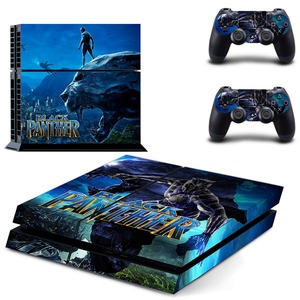 Image 1 - The Avengers Black Panther PS4 Skin Sticker Decal Vinyl for Sony Playstation 4 Console and 2 Controllers PS4 Skin Sticker