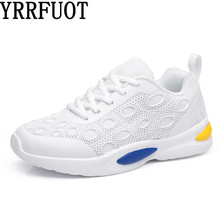 YRRFUOT Fashion Sneakers For Women Breathable Trend Flyknit Woman Comfortable Casual Shoes Zapatillas Hombre Moda Mujer 2019