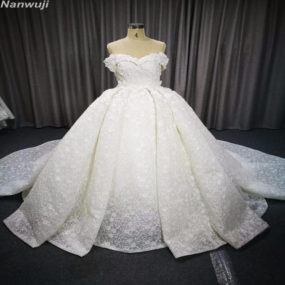 Robe De Mariage Lace Up Princess Real Wedding Dress 2018 Sweetheart - Vestidos de novia