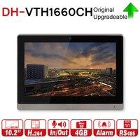DH оригинальный VTH1660CH монитор видеонаблюдения 10 дюймов 800*480 Resilution Сенсорный экран Цвет ip видео домофон