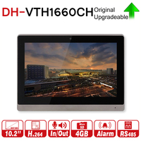 DH Original VTH1660CH Indoor Monitor 10 inch 800*480 Resilution Touch Screen Color IP Video Intercom