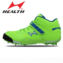 HEALTH student athletic sports Throwing javelin shot put shoes assagai shoes lead kilen competition sport shoes for men spike(China)