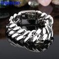 TrustyLan 20MM Width Male Bracelets Bangles Huge Heavy Men's Motor Bike Chain Motorcycle Bracelet Punk Rock Style Wristband