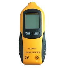 Digital LCD Microwave Leakage Radiation Detector Meter Leaking Tester Alarm 0-9.99mW/CM2 2450MHz Display