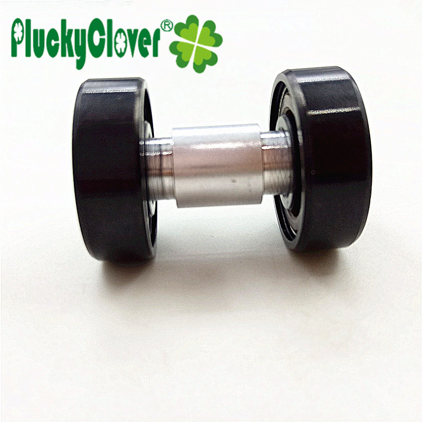 skateboard bearing spacer. 4pc aluminum alloy 6mm axles roller skate shoes 608 bearing spacer slalom skateboard longboard wheels bushing sleeve fsk-in underwear from mother r