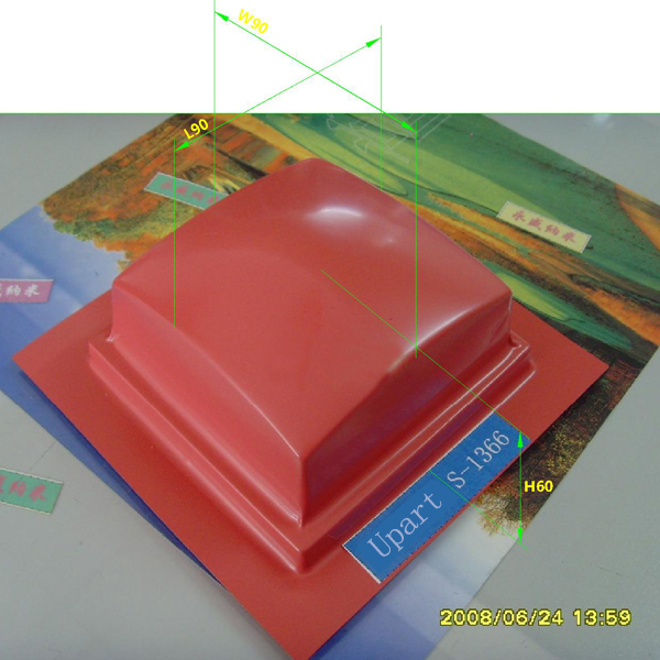 5 Pieces Pad Printing Accessories Tray Pad Printing Rubber Pads
