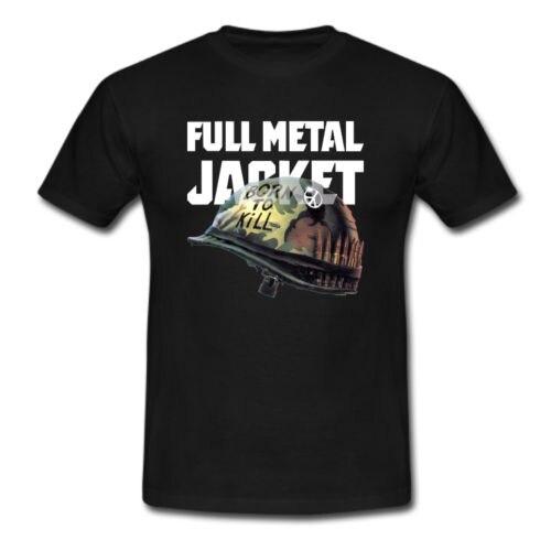 Full Metal Jacket Bullet US Marines Vietnam War T-shirt USA Size
