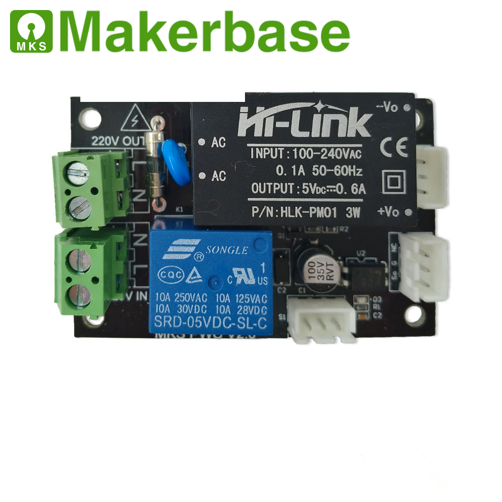 Makerbase MKS PWC V2.0 auto power-off after printing end power monitor module auto shutdown controller for 3D printer Makerbase MKS PWC V2.0 auto power-off after printing end power monitor module auto shutdown controller for 3D printer