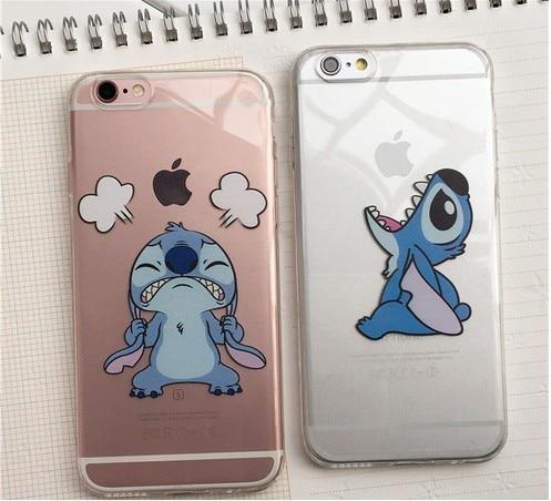 coque iphone xr stitch transparente