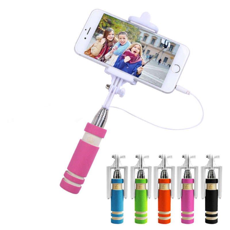 ZUCZUG Mini Portable Selfie Stick For Travel Outdoor Playing For Easy To Photograph Foldable Selfie Stick Camera Remote Shutter