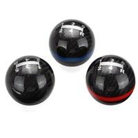 Universal Car Gear Shift Knob Carbon Fiber Ball Manual Transmission Gear Shift Knob Shifter Stick