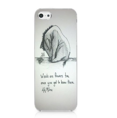 Eeyore Quotes | Funny Eeyore Quotes Pattern Printing Protector Cover Case For Iphone