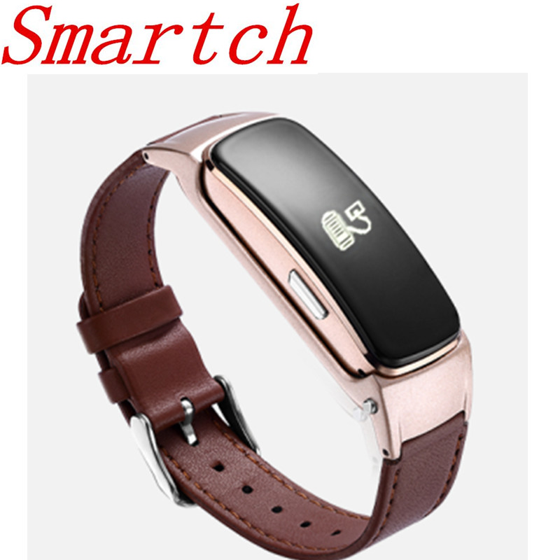 Smartch B3 Plus Bluetooth Headset Blood Pressure Talkband Fitness Tracker Smart Wristband for Mobile Phone id118 plus smart wristband fitness