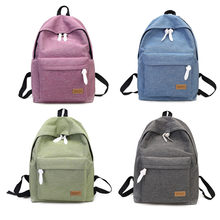 Thinkthendo S Age Canvas Backpack Women Travel Preppy Style School Bag Bookbag Famous Brands