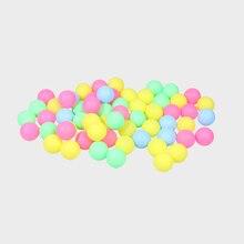 100/60/50 Pcs Fine Quality Ping Pong Balls Table Tennis Balls Training Plastic Ball Bulk Colorful Plastic Decoration Touch Ball