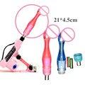 Female Masturbation Vibrator Sex Machine Accessories Dildos With Vibrator Masturbator Sex Toys E5-2-55