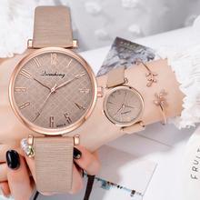 Minimalist Leather Watches For Women Simple Black Casual Dress Quartz Clock Ladies Wrist Watch 2019 Gift Reloj Mujer цена