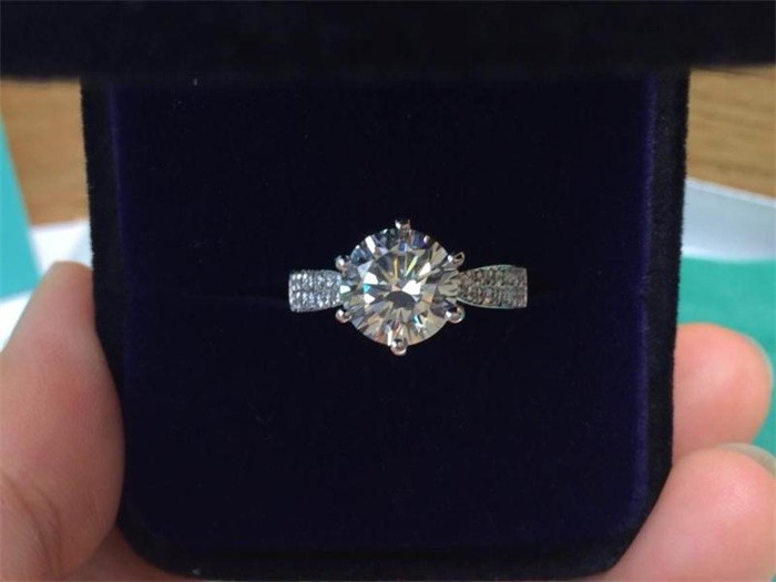 Tabe penge fremme 100% 925 sterling sølv ringe smykker luksus 8mm 2 - Mode smykker - Foto 5