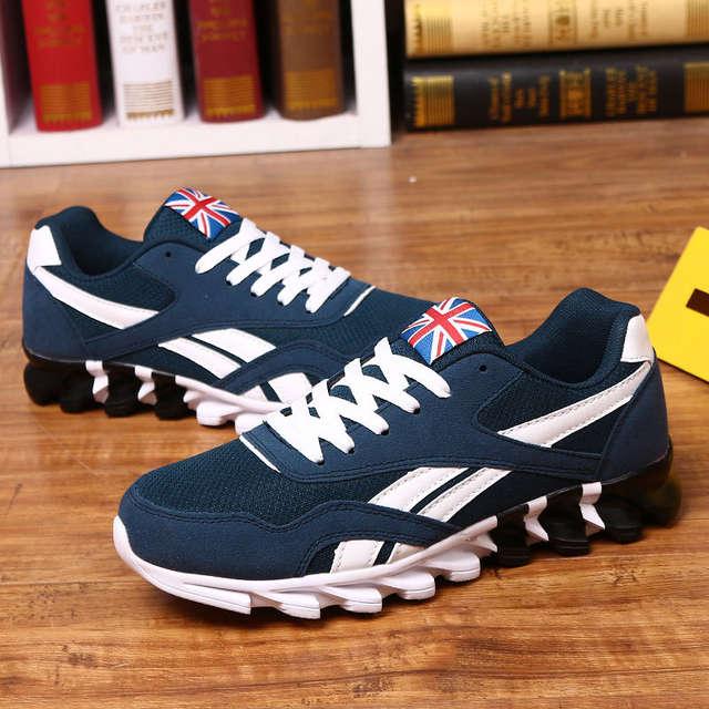 Nouveau Printemps Automne casual chaussures hommes Grand size37 49 baskets à la mode confortable maille de mode dentelle up Adulte hommes chaussures