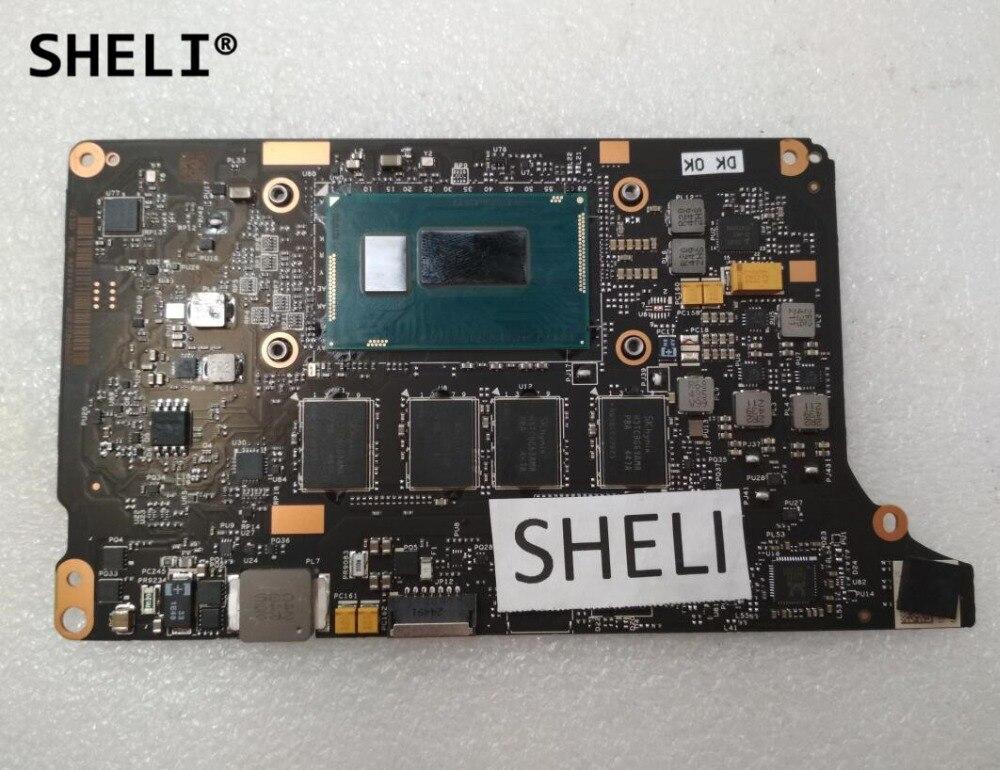 все цены на SHELI For Lenovo Yoga 2 Pro Motherboard with I5-4210U processor 8G VIUU3 NM-A074 онлайн