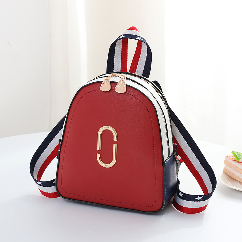 2019 Fashion Personality Women Backpack Mini Backpacks Women Schoolbag Casual Small Packet Famous Designer Shoulder Travel Bags