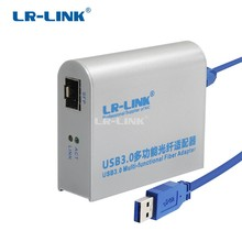 LR LINK 3210PF SFP USB 3.0 Gigabit Ethernet Adapter 1000 Mb Fiber Optical การ์ดเครือข่าย Lan อะแดปเตอร์ Lan Realtek RTL8153
