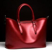 Mode Luxus Frau Echtem Leder Handtasche Große Rindsleder Handtaschen Hohe Qualität frauen Umhängetasche Bolsos Mujer YS1274