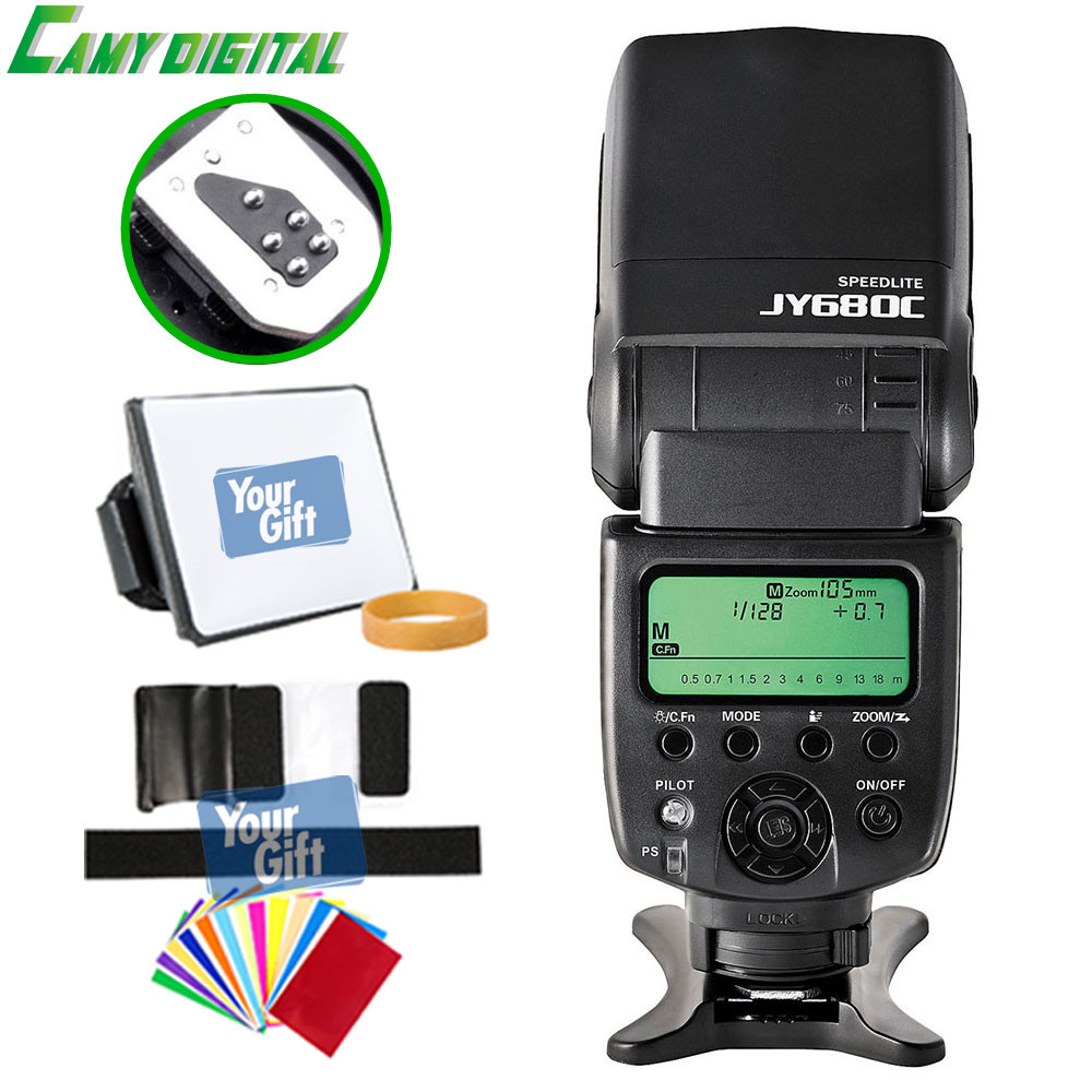 Viltrox high-quality JY-680CJY-680N GN58 Speedlite TTL Camera flash with LCD Screen Support For CanonNikon