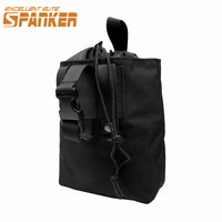 SPANKER 1000D Nylon Tactical Molle Folding Dump Drop Pouch Quick Drying EDC Utility Reloader Bag For