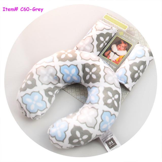 3 unid Bebé Niños toddler Head Neck Suppot almohada de Viaje Reposacabezas Almohada Del Asiento de Coche Cojín Cochecito cubierta de la Correa