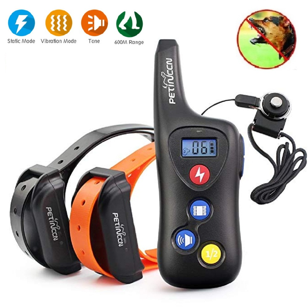 JANPET 600M Remote Training Collar Dog Shock Vibration Beep Collars Waterproof Rechargeable Electronic Pet Training System