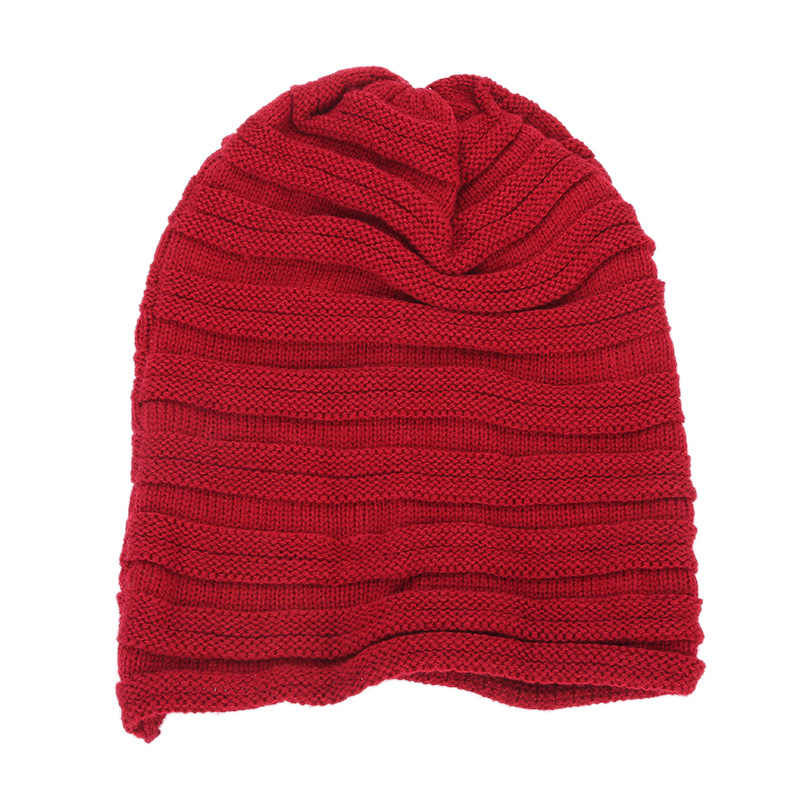 ... Beanies Winter Hats for Women Men Knitted Caps New Cute Girls Woolen  Hat Casual Solid Color ... 418da034d5d0