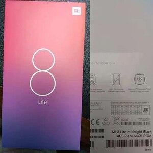 "Image 5 - Global Versie Xiao mi mi 8 mi 8 lite 4 gb Ram 64GB Rom snapdragon 660 Aie 6.26"" full Screen 24MP Front Camera Mobiel"