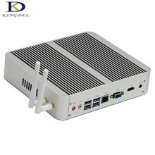 Newest Business Mini PC with 7th Gen Kaby Lake Core i5 7200U Win 10 Fanless Mini PC 16GB RAM 256GB SSD 1TB HDD 4K HTPC Computer