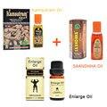 3 botellas de aceite Saandhha india aceite del sexo para los hombres pene erección aerosol grande dick Lanthome aumento aceite de la ampliación del pene polla crecimiento