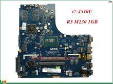 Высокое Качество MB 5B20G46024 для Lenovo Ideapad B50-70 материнская плата для ноутбука LA-B091P SR1EB I7-4510U R5 M230 1 ГБ 100% тестирование