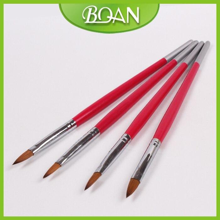 っ8# Oval Kolinsky ᗐ Acrylic Acrylic Nail Brush Pure Sable