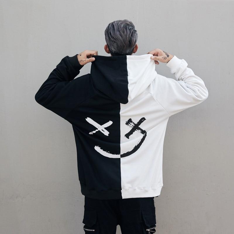 noi modele de hoodies bărbați tricou imprimare hoodie bărbați rece pulover hoodies bărbați fuste bărbați bărbați