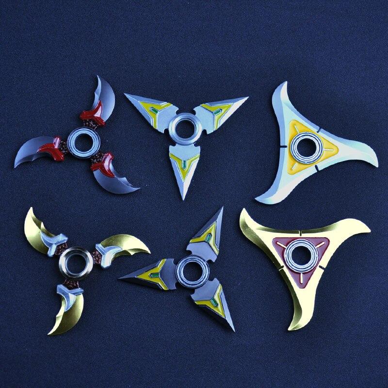 Pioneer повернуть дартс ерзает куб spinner игрушки ручной поворотный tri-spinner наруто сюрикен наруто dragon blade меч в руке
